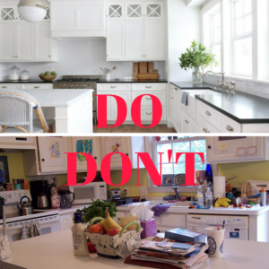 DO's and DON'Ts, 5 Guidelines of Selling, Selling Homes